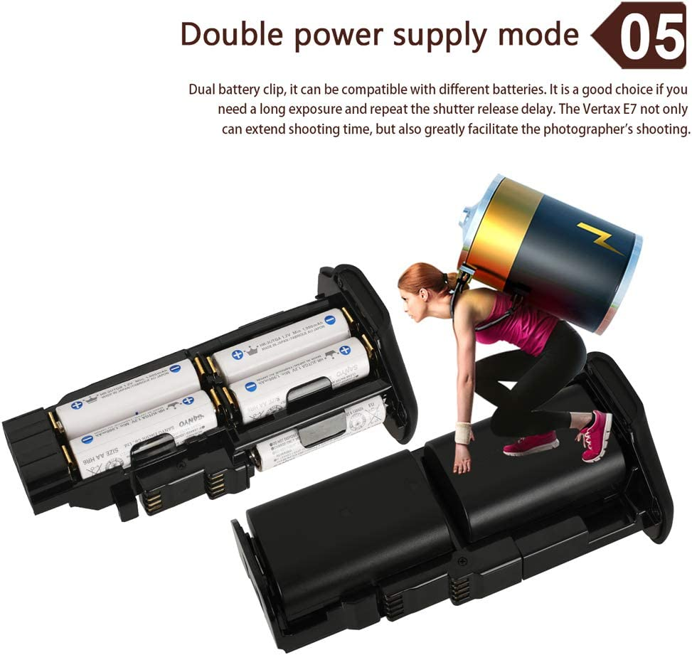 for Canon EOS Digital SLR 5D Mark III 5DIII 5D3 5DS 5DSR Cameras Replacement for BG-E11 Yunchenghe BG-E11 Multifunction Battery Handgrip