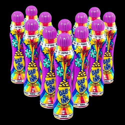人気ブランドの One Dozen 120ml Bingo Dab-O-Ink Purple Dauber Purple Bingo Dauber B00AAH7BE6, モトヨシグン:7c19d6fc --- arianechie.dominiotemporario.com