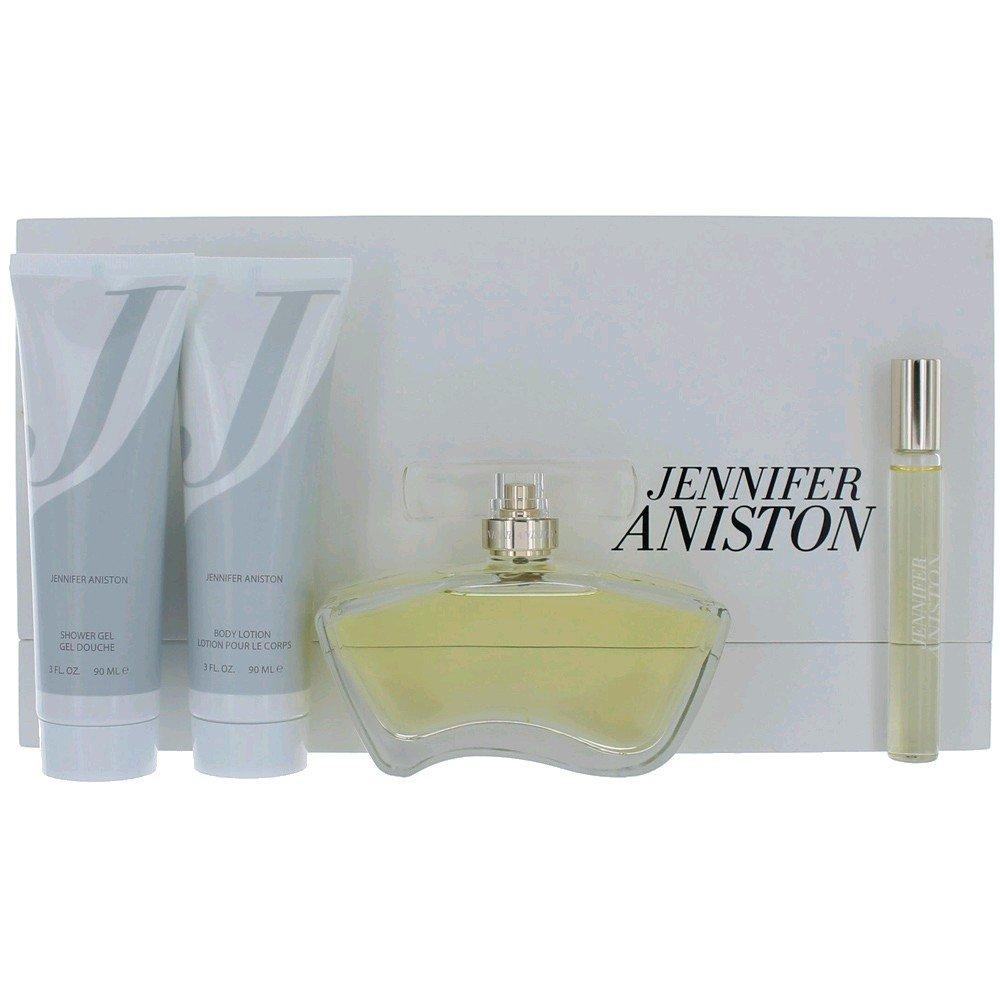Jennifer Aniston Eau De Parfum Women 4 Piece Gift Set JAN4