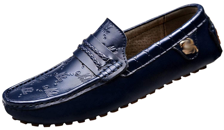AALHM Männer Stiefelschuhe Geschäft Casual Schuhe Mode Fahren Schuhe Lok Fu Schuhe Peas Schuhe Verschleißfest