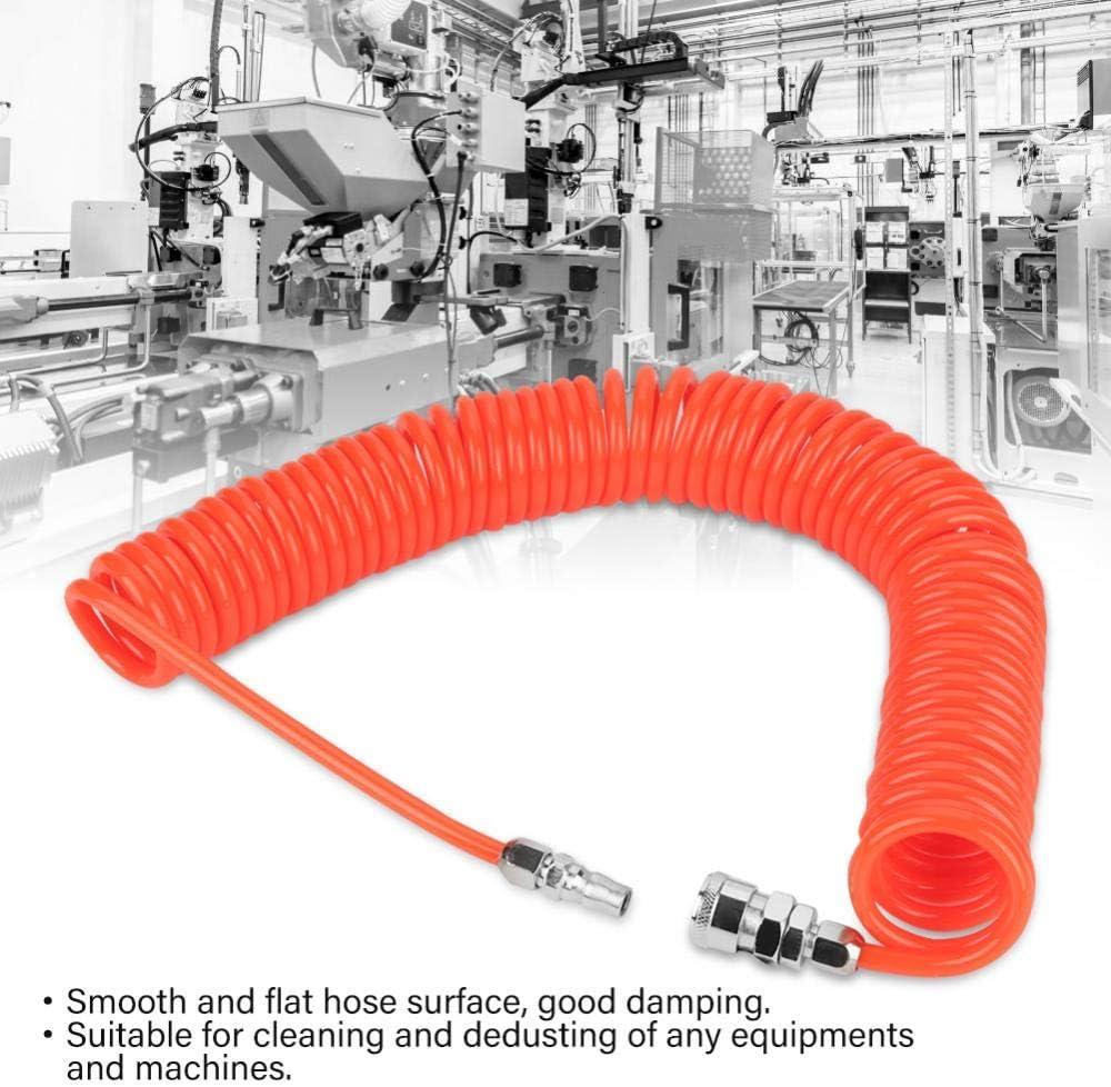 Tuyau dair de recul dunit/é centrale tuyau flexible dair rouge de recul dunit/é centrale de 8 mm 5 mm 9 m avec joints pour la pompe de compresseur dair
