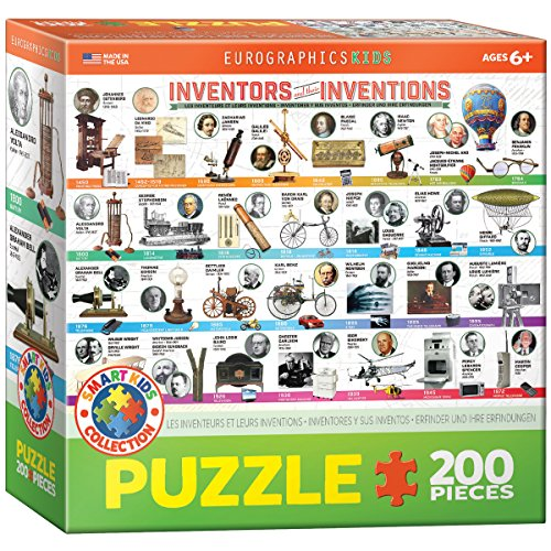 EuroGraphics Great Inventions Jigsaw Puzzle 200 Piece