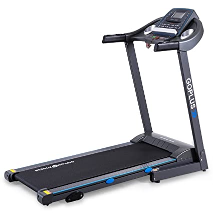 Review Goplus 2.25HP Electric Treadmill Foldable Running Jogging Fitness Machine for Home & Gym Black Jaguar Ⅲ