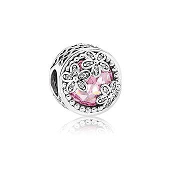 31a33e69f Amazon.com: Pandora Sterling Silver Dazzling Daisy Meadow Charm ...