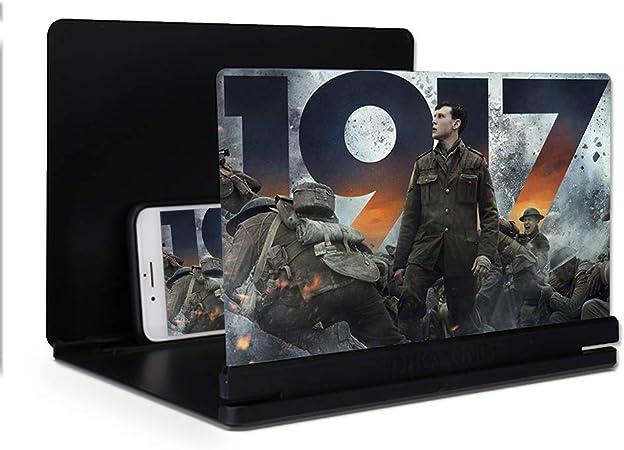 FOONEE Lupa de Pantalla para teléfono 3D HD, Teléfono Inteligente Amplificador de Pantalla Teléfono, Soporte Plegable 12 Pulgadas para Todos los Smartphones, iPhone, Samsung, Sony, Moto LG HUAWEI: Amazon.es: Electrónica