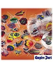 Plumas de Dardos en Distintos Colores y Formas (juego de 20) - 60 Unidades