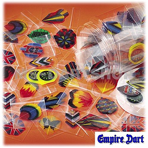 60 alette per freccette (20 pezzi) in vari colori e misure famousworld
