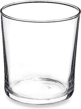 Bormioli Rocco 710870M04321751 - Juego de 12 Vasos de Vidrio Templado: Amazon.es: Hogar