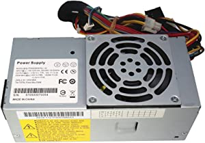 Mackertop 250W TFX0250D5W Power Supply Compatible with Dell Inspiron 530S 531S, Vostro 200(Slim) 200S 220S, Studio 540S Small Form Factor(SFF) Systems