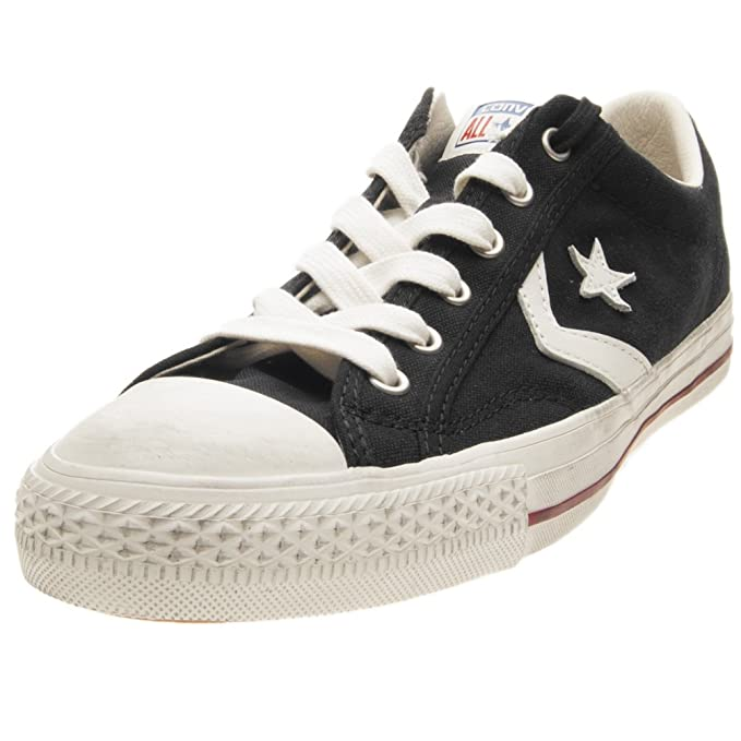Scarpe Converse Star Player Distressed Taglia 42 160922C Nero