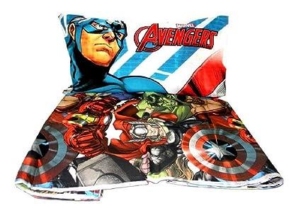 835d7df550 Completo lenzuola Avengers letto singolo MARVEL AVENGERS 3 pz 1 piazza  Lenzuolo sopra+ sotto+ federa: Amazon.it: Casa e cucina