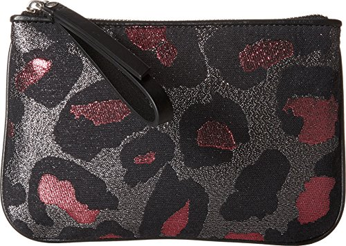 Marc Jacobs The Roxy 20 Devine Leopard Lurex Wristlet, Ra...