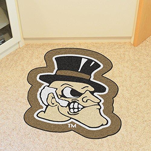 - FANMATS NCAA Wake Forest University Demon Deacons Nylon Face Mascot Rug