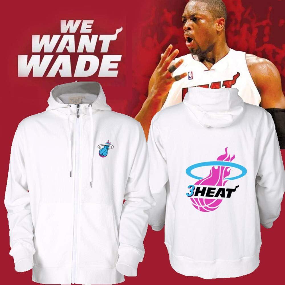Miami Heat Flash Wade Denkmal Sweatshirt Wade Basketball Kapuzenjacke 8