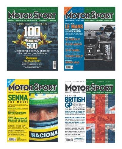 Motor Sport Magazine - 12 issue subscription plus free umbrella worth $48.50
