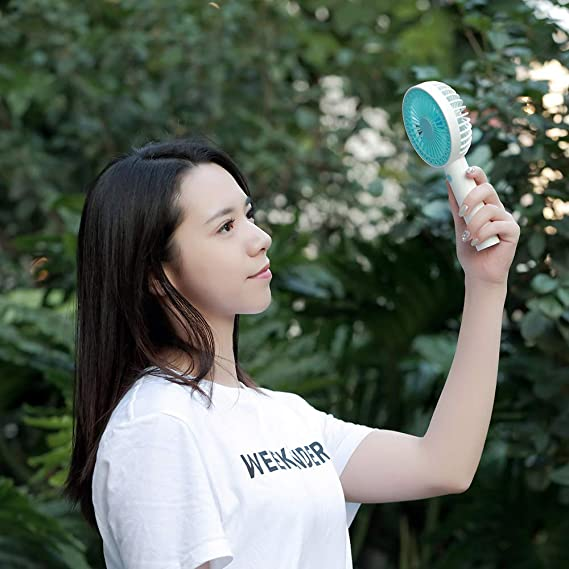 Amazon.com : FuriGer Handheld Mini Fan with Phone Holder ...