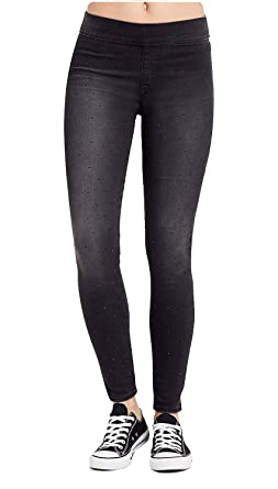 4facb62ca5d76e True Religion Women's Starlet Legging Super Skinny Leg Pants in Black Years  Away (XX-