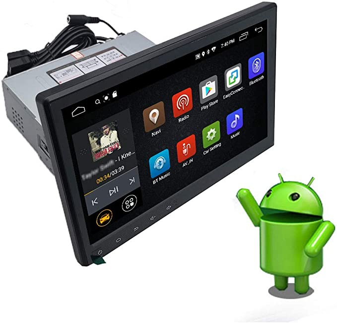 Rear View Camera 1 Din Autoradio Support RCA and Subwoofer Hodozzy Single Din Car Radio with Bluetooth 1 Din 4.3 Touch Screen 12V Car Stereo FM AUX TF Dual USB Remote Control