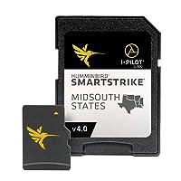 Humminbird SmartStrike Mid-South States Edition Digital GPS Lake Maps, Micro SD Card, Version 4, Black