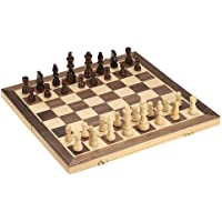 Foldable Wooden Chess Set International Chess Entertainment Game Chess Set Folding Board Educational Chess Magnetic…