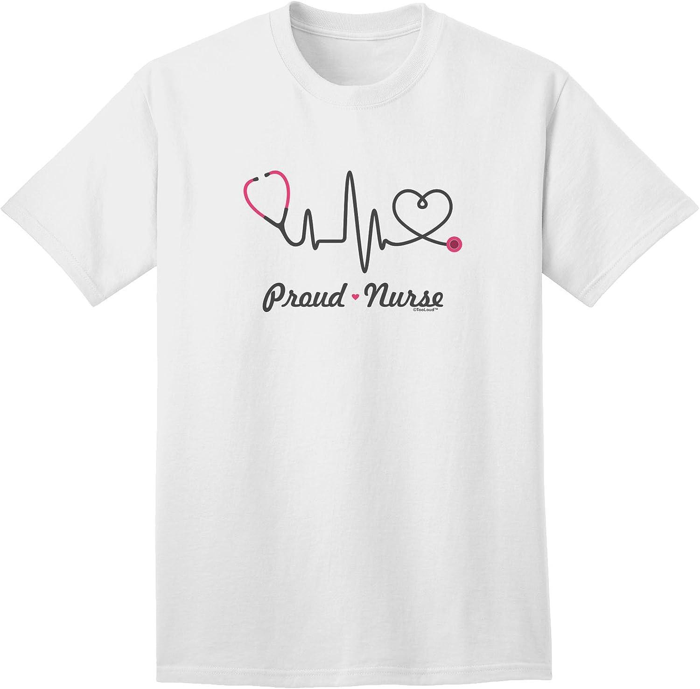TooLoud Stethoscope Heartbeat Infant T-Shirt Dark