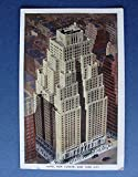 HOTEL New Yorker VINTAGE 1941 POSTCARD Linen White Border Aerial View York City offers