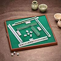 Lightweight And Easy To Carry Suitable For Travel Hostel Hotel Entertainment Blue Majiang Chinas Quintessence XCXDX Mini Mahjong
