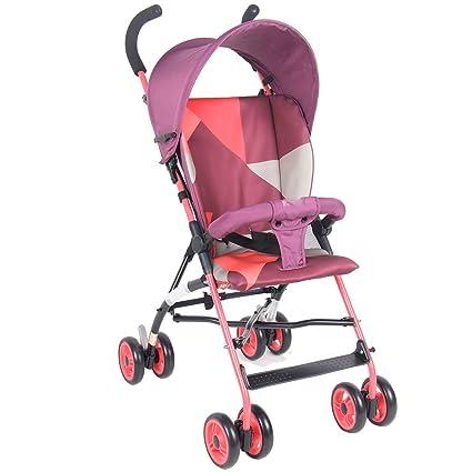 &Carrito de bebé Suspensión plegable portátil del paraguas del bebé invierno y verano (Color :