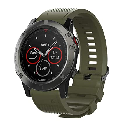 Amazon.com: Chofit Bands Compatible with Garmin Fenix 5X 5S ...