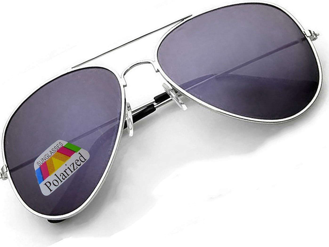 4sold Klassische Pilotenbrille Unisex Polarisierte Sonnenbrille Fliegerbrille Pornobrille in vielen Farbkombinationen 4sold Avi