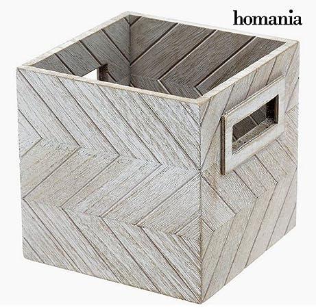 Caja Decorativa Homanía 9805 Madera: Amazon.es: Hogar