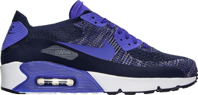 ナイキ シューズ スニーカー Men's Nike Air Max 90 Ultra 2.0 Flyknit College Na 1y6 [並行輸入品] B07573M3CP