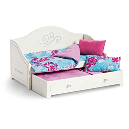 Perfect American Girl Trundle Bed And Bedding Set