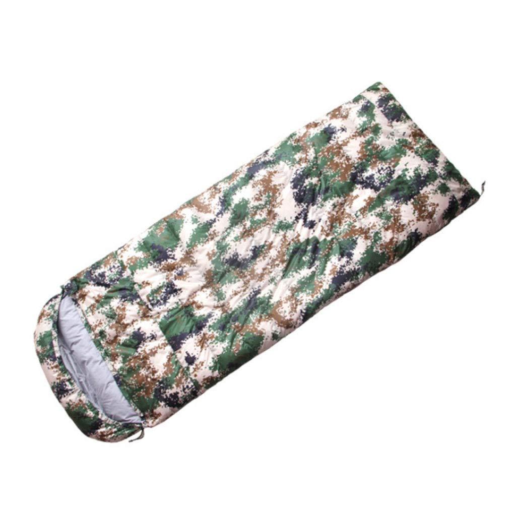 DGB Camouflage Outdoor-Wärme Kann Genäht Genäht Genäht Werden Winddichter Umschlag Weiße Ente Daunen Schlafsack B07M7Y72FP Schlafscke Verrückter Preis fce3a6