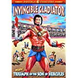 Gladiator Double Feature: Invincible Gladiator (1962) / Triumph of the Son of Hercules