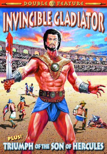 (Gladiator Double Feature: Invincible Gladiator (1962) / Triumph of the Son of Hercules (1961))