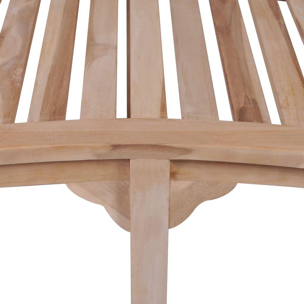 Amazon.com : VidaXL Patio Garden Teak Curved Banana Wooden Bench Chair Seat  Outdoor 2 Seater : Garden U0026 Outdoor