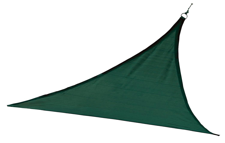ShelterLogic 25724 12 ft. - 3 7 m Triangle Shade Sail - Evergreen 230 gsm B009MLX38O