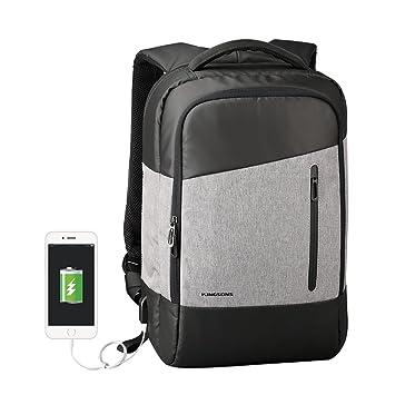 92cc8733eb91 ビジネスリュック INKERSCOOP パソコンリュックサック ビジネスバッグ 大容量15.6インチPCバッグ USB充電