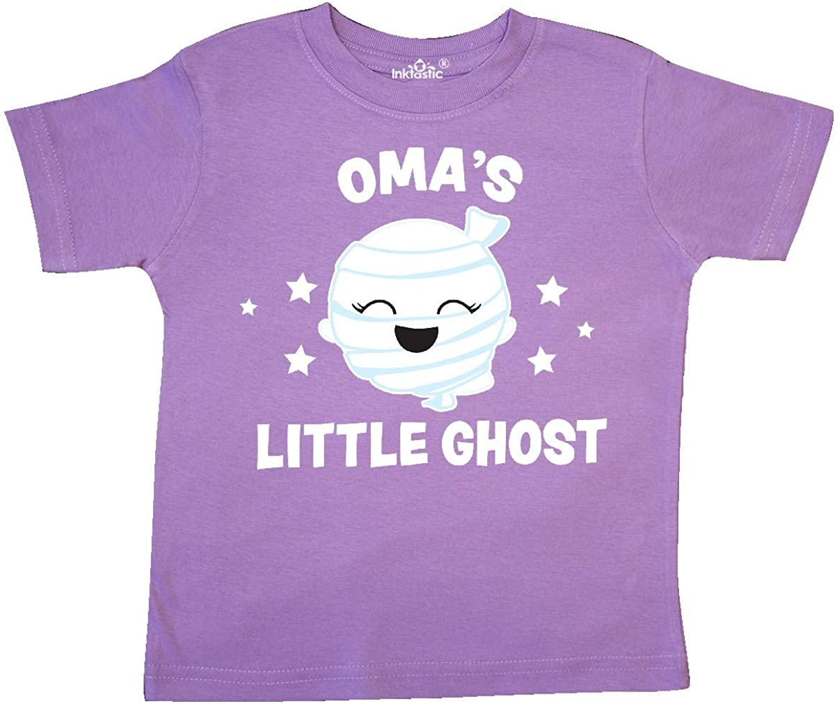 inktastic Cute Omas Little Ghost with Stars Toddler T-Shirt