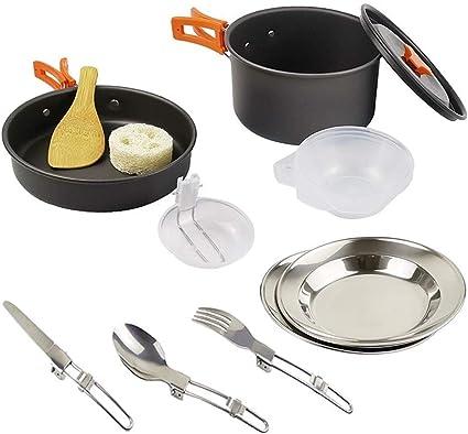 Camping al aire libre utensilios de cocina de utensilios de ...