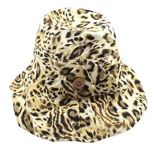 TWIFER Sombreros para el Sol Mujer Plegable Sombrero Ancho Verano ...