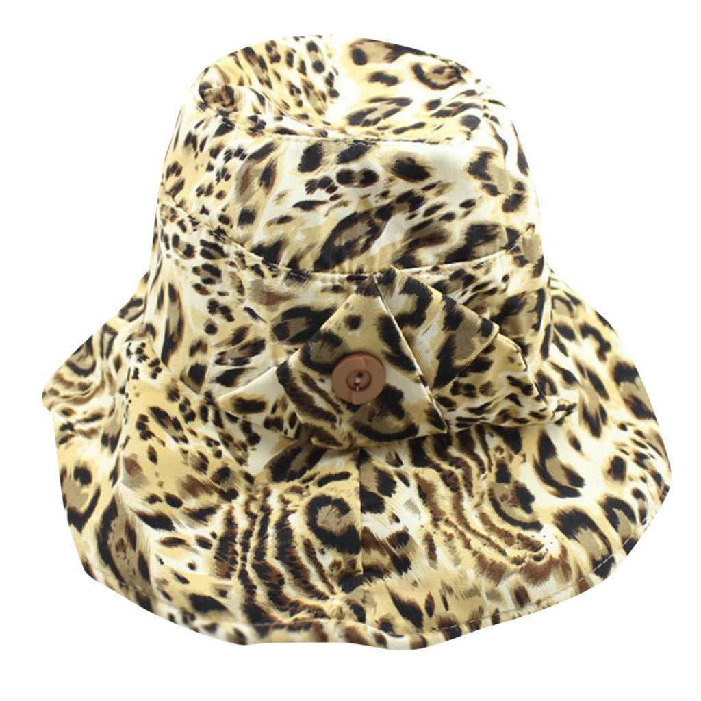 TWIFER Sombreros para el Sol Mujer Plegable Sombrero Ancho ...