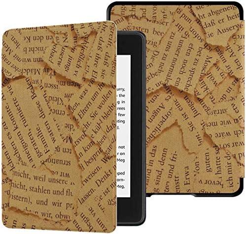 Estuches Kindle Paperwhite Paper Letras de Letras Páginas de Libros Rasgados Old Vintage Kindle Paperwhite Estuches para niñas Estuche con Auto Wake/Sleep Mejor Estuche Kindle Paperwhite 10th Gener: Amazon.es: Electrónica