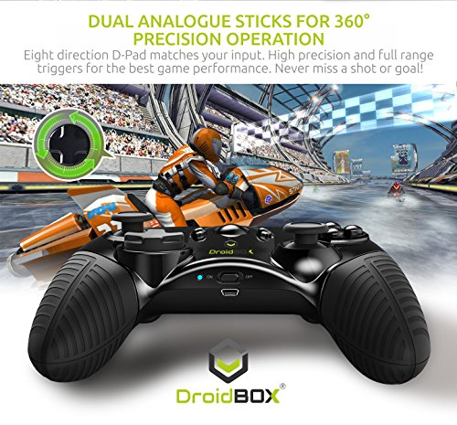 Juega a Juegos y emuladores con Barras Dobles, D-Pad y 12 Botones: Amazon.es: Electrónica