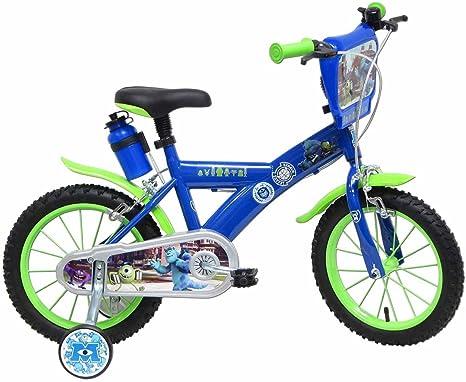 Bicicleta niño monstruos et Cie 16 pulgadas: Amazon.es: Deportes y ...