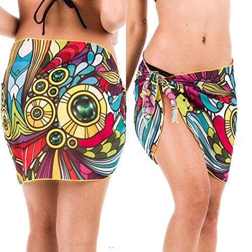 National Polish Children's Costume (Lady Chiffon Skirt,Enjocho Women Girls Summer Beach Cover Up Bikini Swimwear Swimsuit Coverup Mini Printing Short Dress)