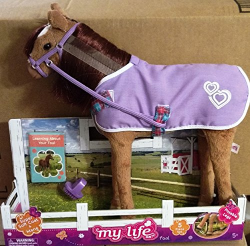 my-life-as-a-foal-chestnut-12-posable-5-piece-set