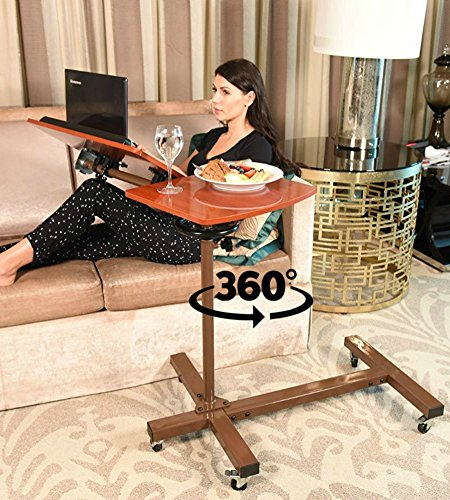 Sharper Image Best Over Bed Table, Overbed Adjustable Tilt Table