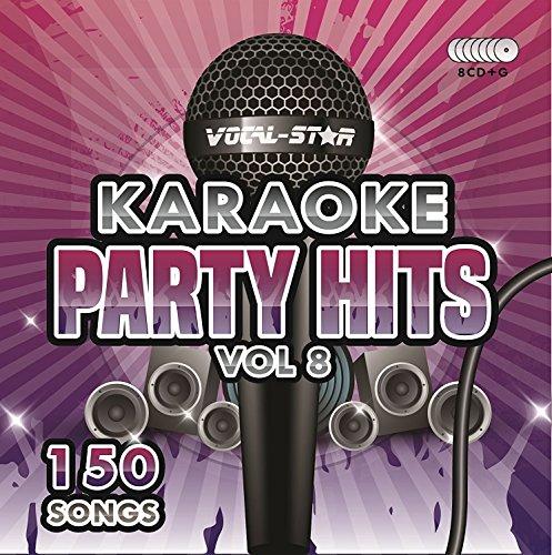 Karaoke Party Hits Vol 8 CDG CD+G Disc Set - 150 Songs on 8 Discs Including The Best Ever Karaoke Tracks Of All Time (Calvin Harris,Miley Cyrus, Meghan Trainor, Rita ()